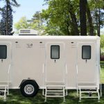 3 Unit Shower / Restroom Combo Trailer