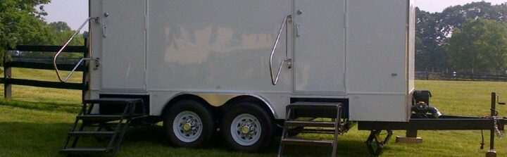VIP To Go offers long term bathroom trailer rental.