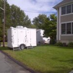 Sport Portable Restroom Trailers For Education Events