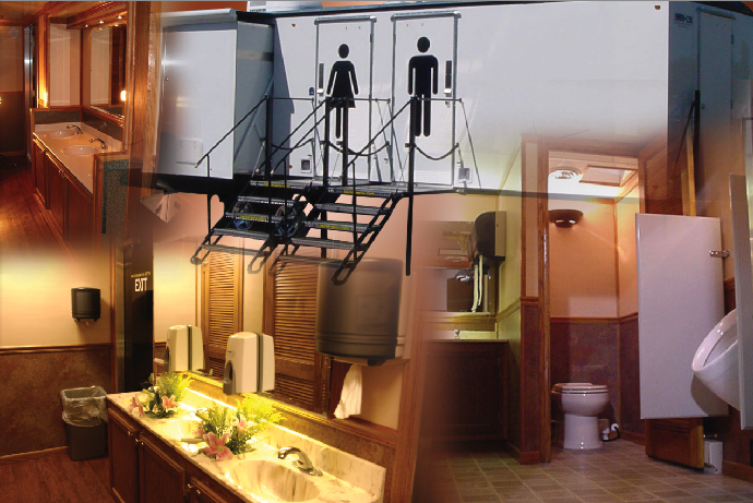 bathroom rentals for weddings planning is a breeze