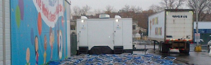 VIP To Go can help with placement of your rental restroom trailer.