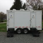 Restroom trailer rentals Boston image