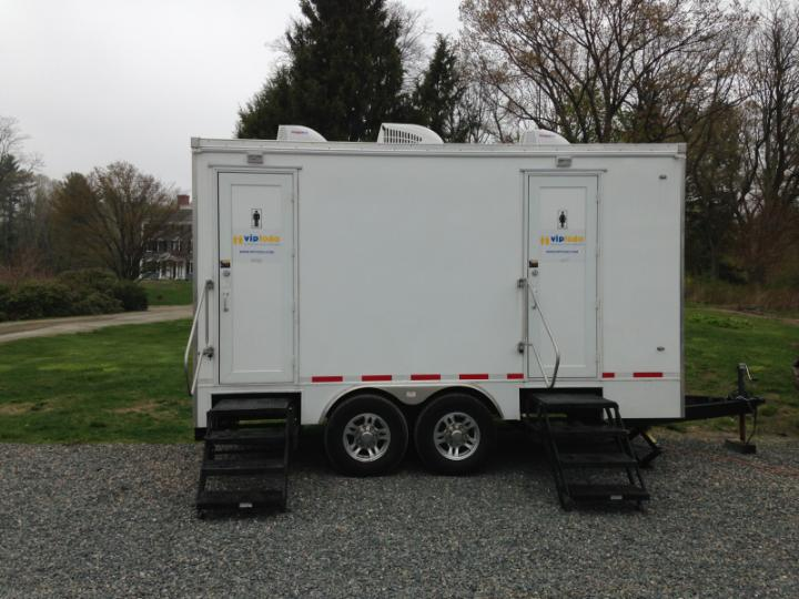 With restroom trailer rentals boston is ready for Bathroom trailer rental
