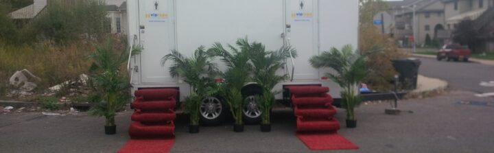 Portable toilet trailers allow you to rent fewer units.