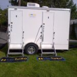 15' Party Restroom 5 station trailer