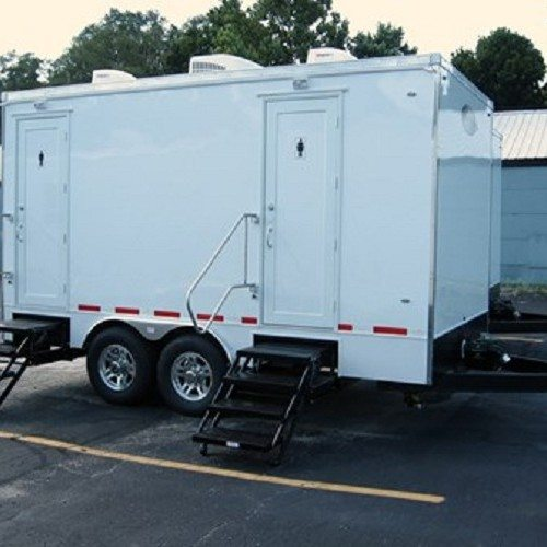Restroom trailer, 15 feet with 5 stations