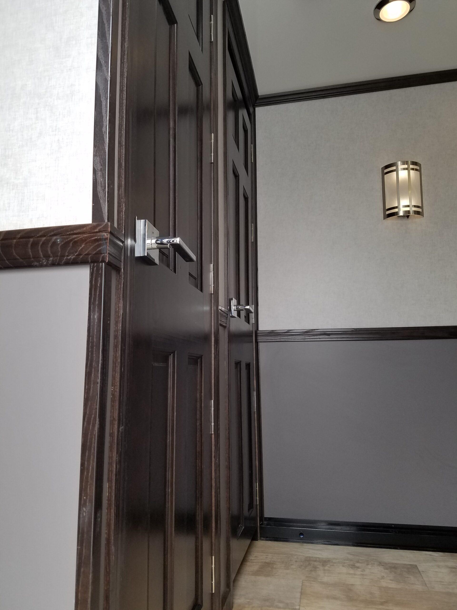 Ten Station Rolls Royce inside doors