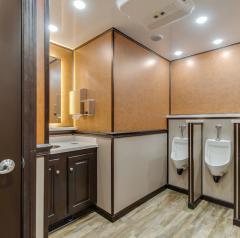 Sinks in porta potty trailer in NY and NJ